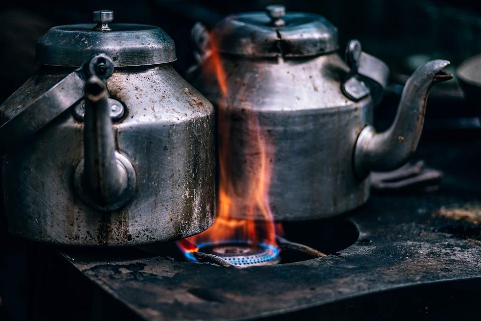 fogones de hierro antiguos
