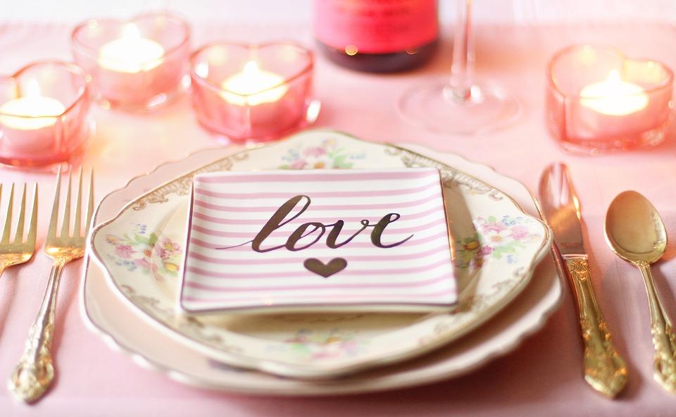 mesa con amor