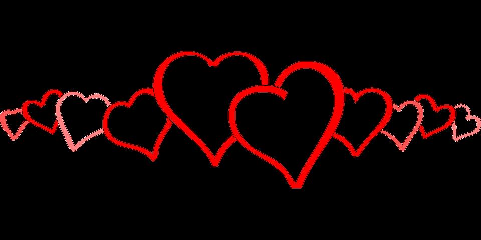 cenefas corazones