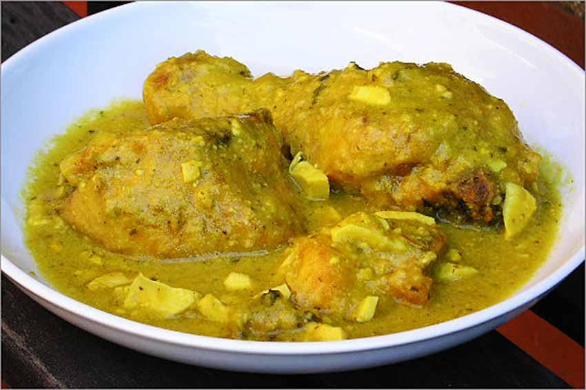 pollo pepitoria receta