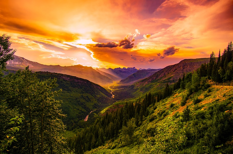 valle amanecer