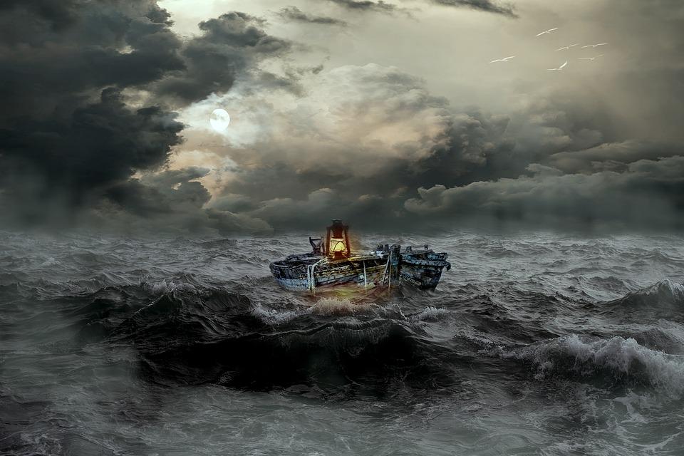 mar tormenta