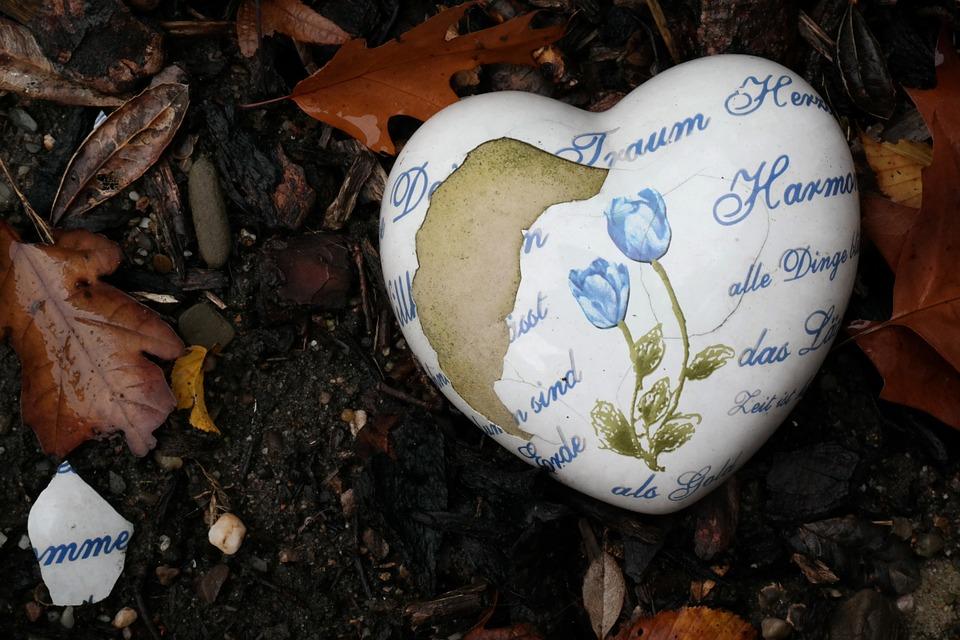 corazón descascarillado