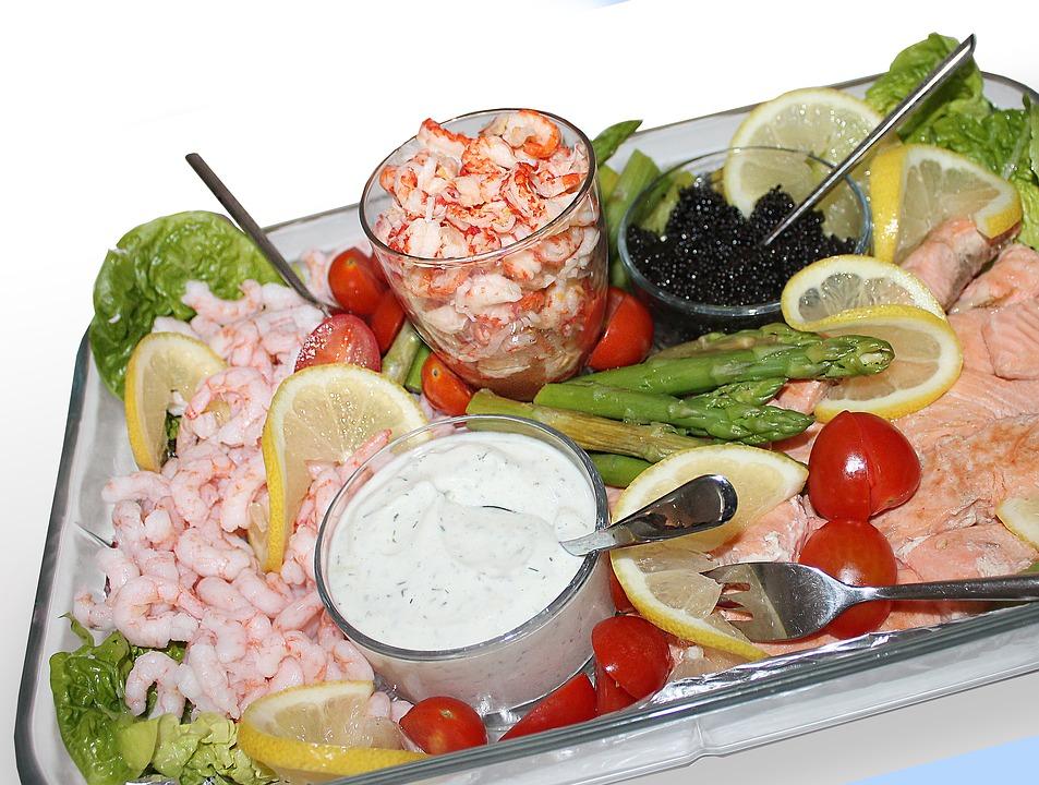 ensalada variada y saludable