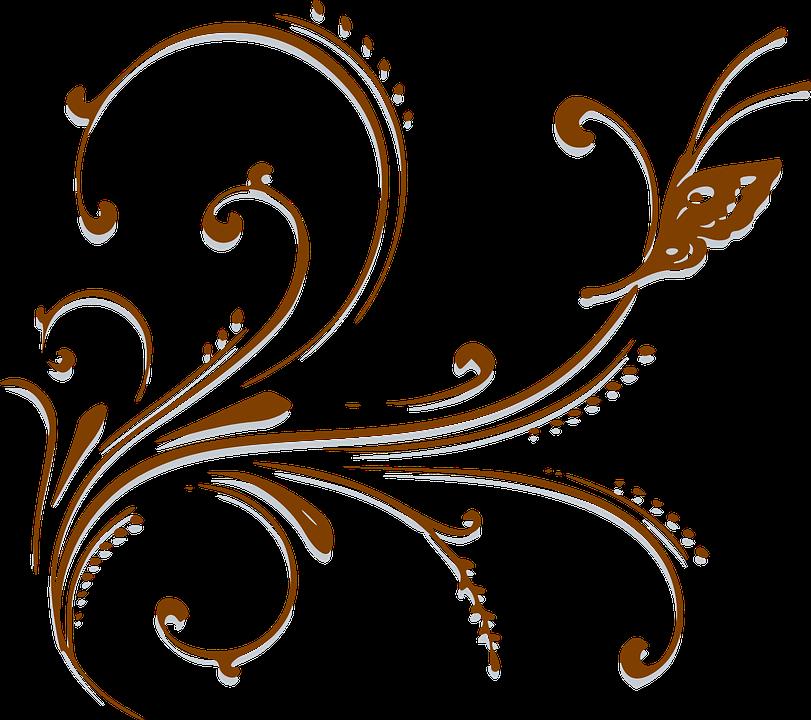 cenefa mariposa