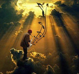 cielo y músico