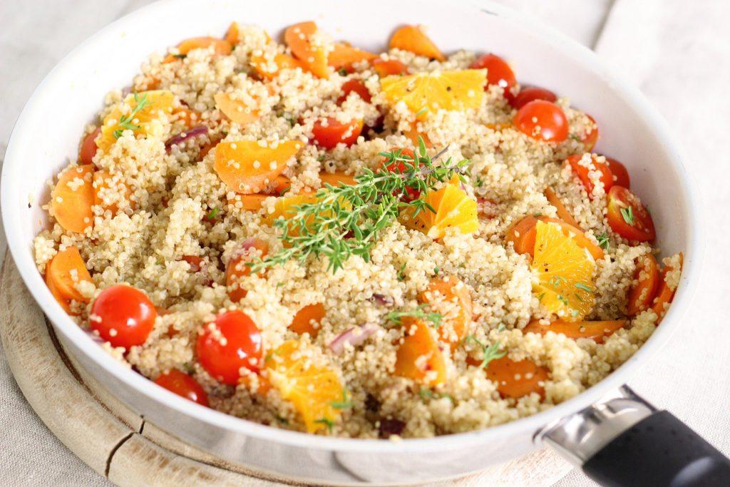 quinoa tomate