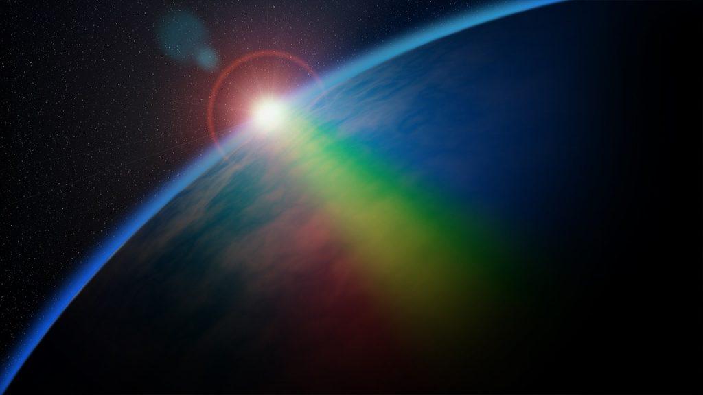 espacio tierra sol