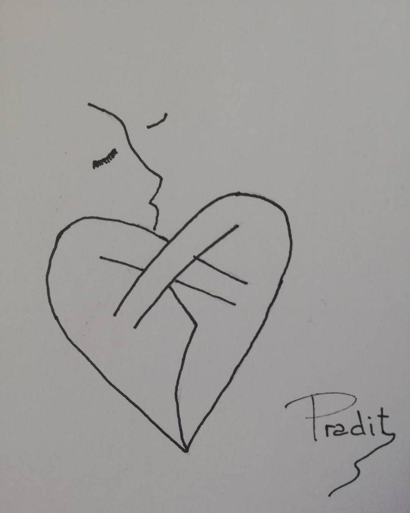 Pradir Abrazo de corazón