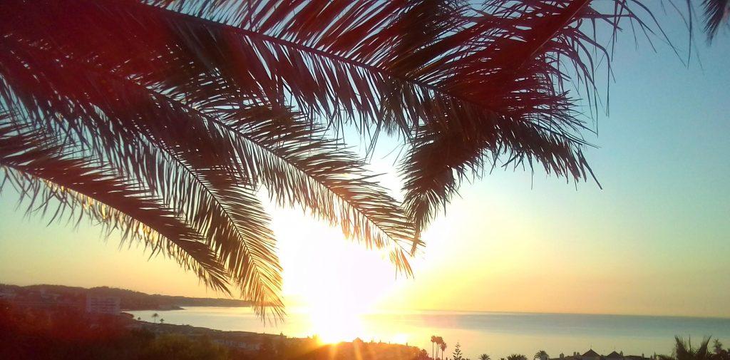 amanecer mediterráneo